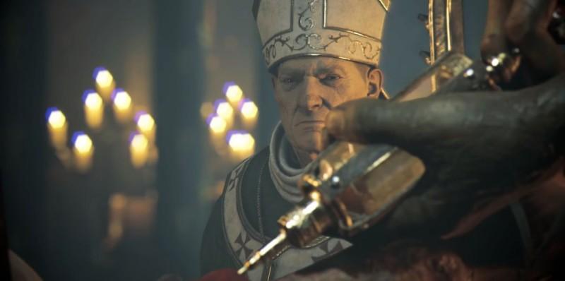 Архиепископ и инъекция Виталия