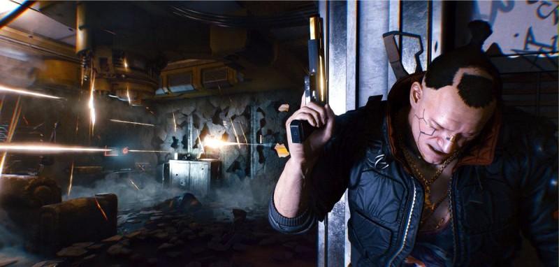 Персонаж игры Cyberpunk 2077