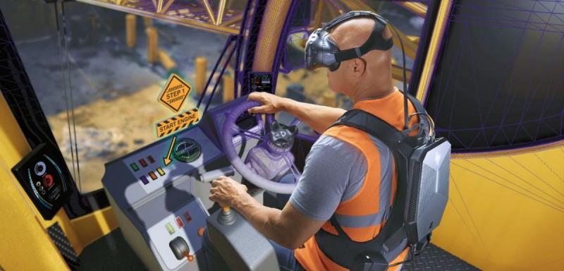 Крановщик виртуальной реальности