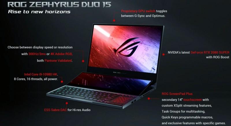 Характеристики ноутбука
