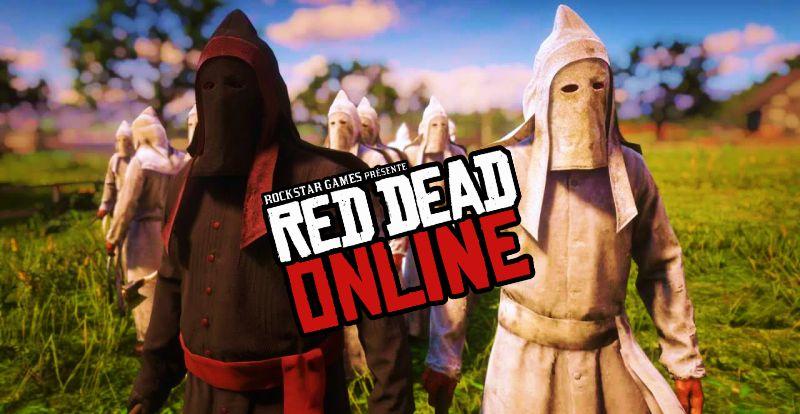 В Red Dead Online прикрыли ку-клукс-клан для читеров