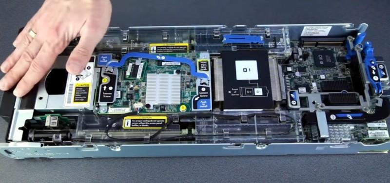 HP BL460c Gen8