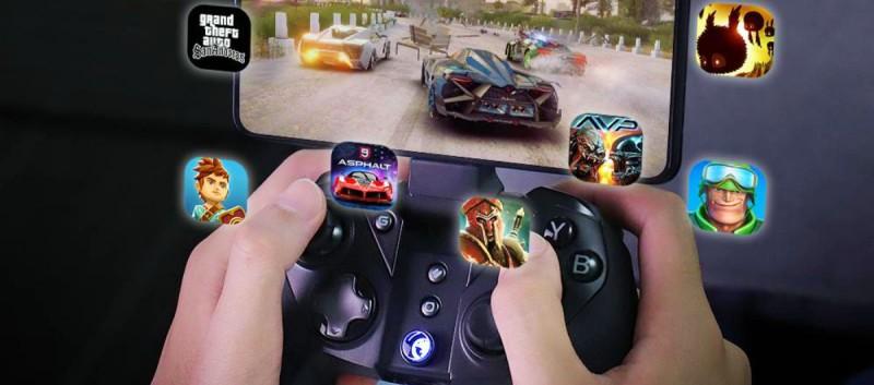 GameSir G4 Pro и телефон