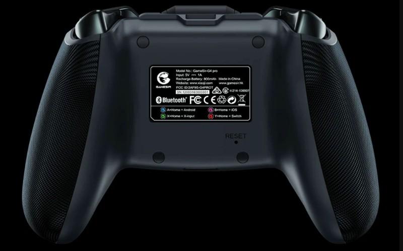 Обртаная сторона GameSir G4 Pro