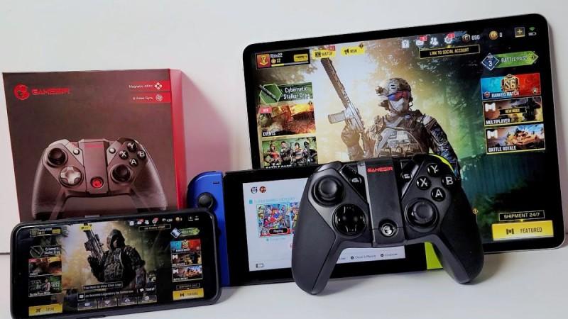 GameSir G4 Pro и девайсы