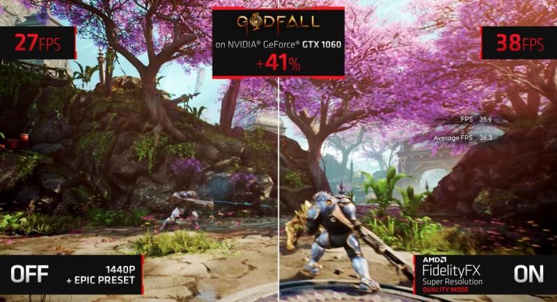 Увеличение FPS в игре GodFall