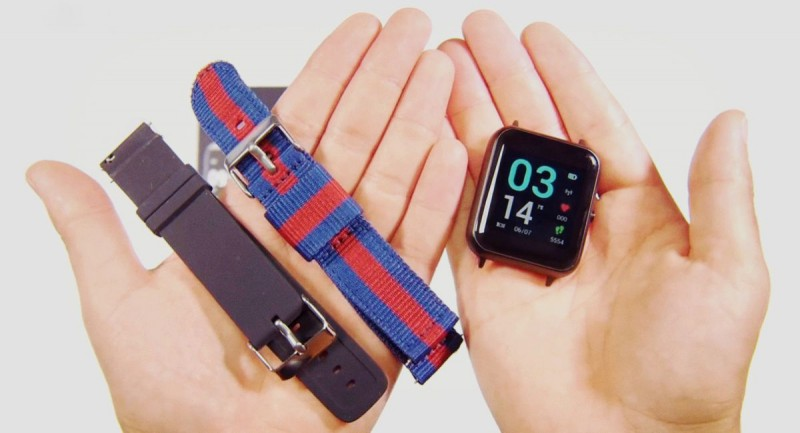 Часы со снятым браслетом