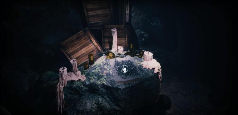 Картинка в пещере