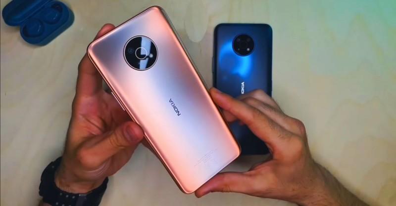 Nokia G50 задняя камера